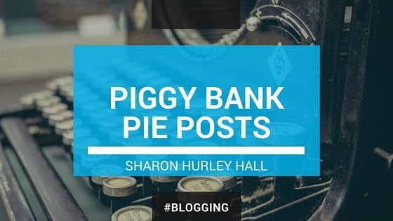PIGGY BANK PIE POSTS