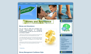 Money and Abundance homepage old