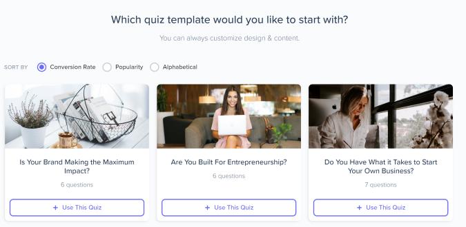Interact quiz builder screenshot 3