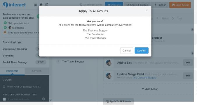 Interact quiz screenshot 8
